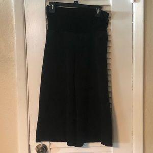 Tempted black wide leg pants